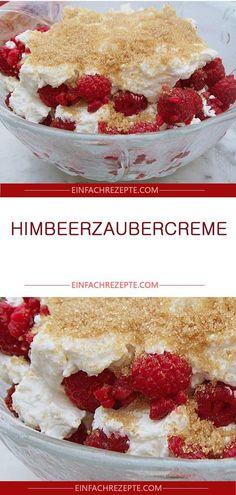 Raspberry Magic Cream - New Site Mini Desserts, Trifle Desserts, Winter Desserts, Pudding Desserts, Party Desserts, Pudding Recipes, Christmas Desserts, Chocolate Desserts, Raspberry Desserts