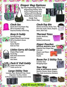 Get baby organized with Thirty-one