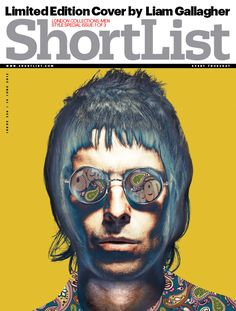 Liam Gallagher designs our British style cover - Music - ShortList Magazine