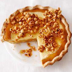 Pumpkin Frangelico Pie with Mascarpone