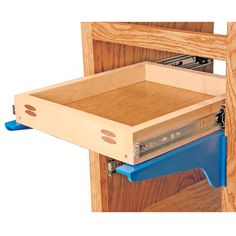 Kreg Drawer Mounting Brackets - Rockler.com   When I get my tools, I could use this to make the entertainment center Shawn wants.