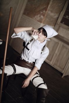 Dantelian(Dantelian) Levi Cosplay Photo - WorldCosplay
