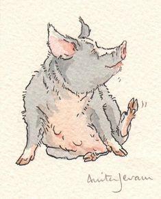 Children's Book Illustration, Anita Jeram