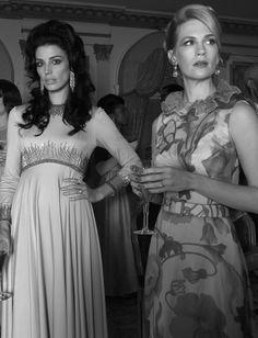 Megan Draper (Jessica Pare) and Betty Francis (January Jones) – Mad Men