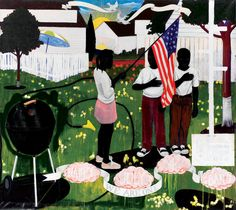 Kerry James Marshall's Paintings Show What It Means to Be Black in America - The New York Times
