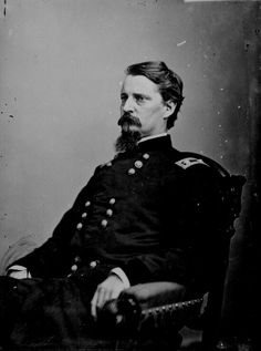 Union Gen. Winfield Scott Hancock, wounded at Gettysburg.  After the war he went on to fight Indians on the southern plains and eventually to be the Democratic candidate for president in 1880, losing to James Garfield.