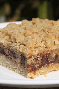 Cookie Bars, Bar Cookies, Baking Cookies, Brownie Cookies, Baking Recipes, Cookie Recipes, Bar Recipes, Quick Dessert Recipes, Peanut Butter Chocolate Bars