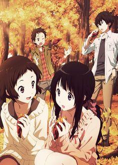 Um dos melhores animes colegiais de todos os tempos =] #hyouka