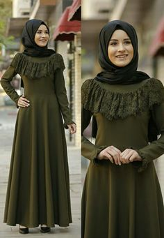 Pinterest @Forever_Hijabs Abaya Fashion, Skirt Fashion, Fashion Outfits, Hijab Style Dress, Hijab Chic, Conservative Outfits, Dress Brokat, Muslim Women Fashion, Modele Hijab