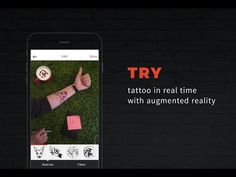 INK HUNTER - the best mobile app for try on tattoo designs in real time with augmented reality - YouTube
