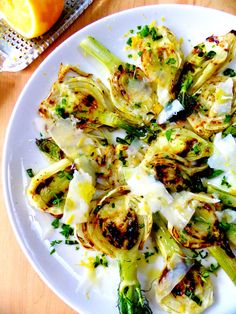 roasted fennel with parmesan - giada de laurentis