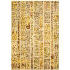 Safavieh Monaco Yellow/ Multi Rug (8' x 11') - Walmart.com