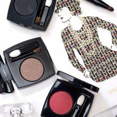 Ombretti compatti CHANEL #makeup #eyes