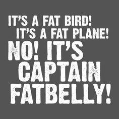 Captain Fatbelly Funny T-shirt Impractical Jokers Joe Fan Novelty Tee T SHIRT #LimpinLarrysTshirts #GraphicTee