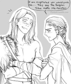 D'aw. I'm guessing it's Loki to the left. He looks stoked. XD