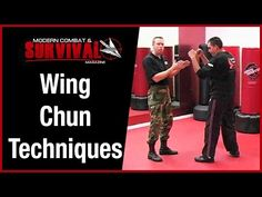 Wing Chun Techniques For Street Fight Self Defense - YouTube
