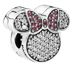 Minnie Mouse Icon Disney Pandora Charm