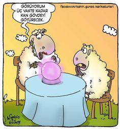 "Üç vakte kadar kurban bayramı karikatürü (from <a href=""http://www.karikaturhane.com/picture/uc-vakte-kadar-kurban-bayrami-karikaturu/category/21-sahin_gunes_karikaturleri"">Karikatürhane</a>)"