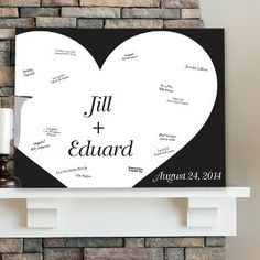 Personalized 18x24 Signature Canvas  Follow Your Heart by mokasmom
