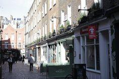 Newburgh Street in the Newburgh Quarter, #Carnaby