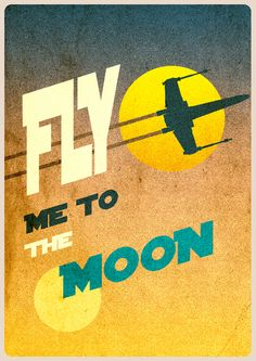 fly me to the moon xwing star wars