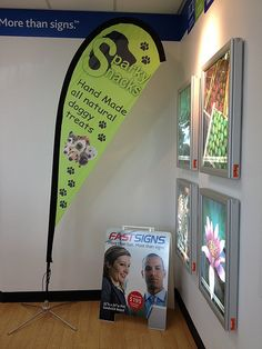 FASTSIGNS® of Vancouver, BC has custom sign and banner solutions to fit any need for your entire business. Teardrop Banner, Be Yourself Quotes, Make It Yourself, Create A Company, Event Signage, Banner Stands, Community Events, Visual Communication, Special Events