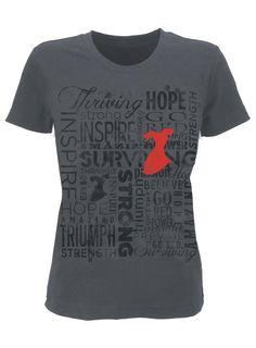 My new Shirt! Support the American Heart Association! www.ShopHeart.org