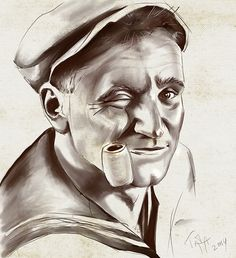 Robin Williams by Tatiana Minina