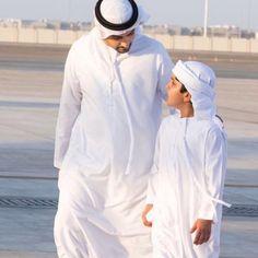 Maktoum bin Hamad bin Mohammed Al Sharqi y su sobrino, Hamad bin Mohammed bin Hamad Al Sharqi, 07/06/2016. Vía: latifa.mrm