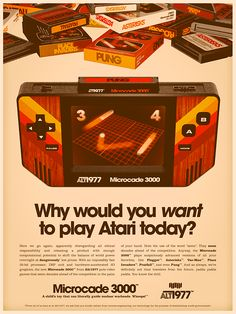 Just because, it all started with an atari