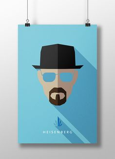 Flat Design Character Poster Part 2 on Behance