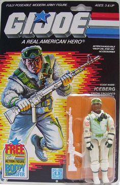 G.I. Joe - Iceberg... Wow I remember playing with this G.I. Joe when I was kid.