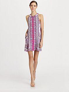 Nanette Lepore - Silk Sunset Dress