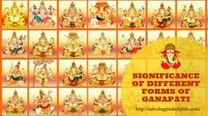 Ganesha is probably the most loved God of the masses. People love Him in all forms. Know the meaning and significance of the different forms of Ganesha Lord Ganesha, Lord Shiva, How To Improve Relationship, Knowledge And Wisdom, Third Eye, Different, Goddesses, Astrology, Meant To Be