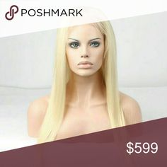 Blonde Beauty Lacefront Wig 100% Indian Remy Hair Accessories Hair Accessories