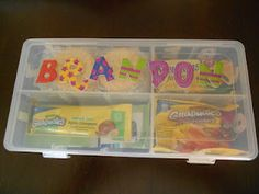 One Busy Mama and Teacher: Snack Box