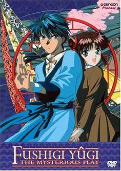 Tamahome and Miaka Kiss   Yuu Watase and Hajime Kaegaki: Fushigi Yuugi