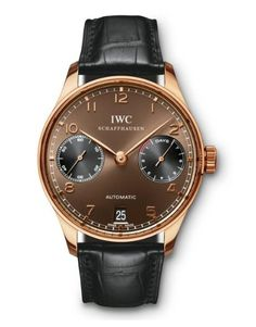 IWC IW500124 Portuguese 7 Day Power Reserve Automatic. #IWC