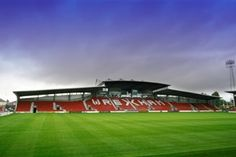 'Where giants were killed.' This is the Racecourse. The place where Wrexham FC plays its football...and big names from Arsenal to FC Porto have been slayed in years gone by. Magic.