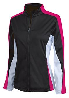Charles River Apparel Womens Energy JacketXXLargeBlackHot PinkWhite *** Be  sure to check out this