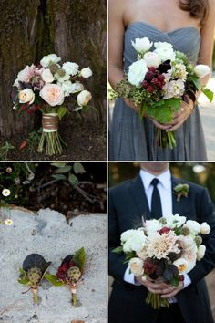edible wedding flower bouquets boutonnieres berries... Love this always hear brides get hungry on weddings never again