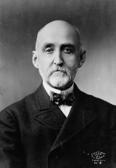 """Alfred Thayer Mahan (1840 – 1914) was a U.S. Navy flag officer, geostrategist, and historian, who has been called """"the most important American strategist of the nineteenth century."""" His concept of """"sea power"""" was based on the idea that countries with greater naval power will have greater worldwide impact; it was most famously presented in The Influence of Sea Power Upon History, 1660–1783 (1890)."""