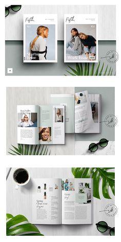 FIFTH Magazine Template #brochure #template #indesign #magazine #lookbook #portfolio #catalog #fashion
