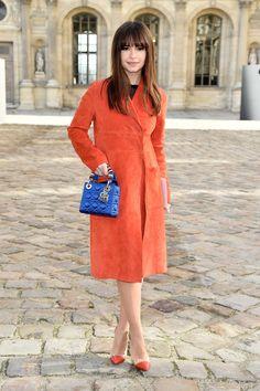 Miroslava Duma attends the Christian Dior show as part of the Paris Fashion Week Womenswear Fall/Winter 2015/2016 on March 6, 2015 in Paris, France.