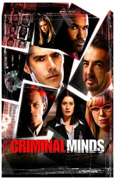 Criminal Minds Cast Collage FBI TV Show Poster 11x17