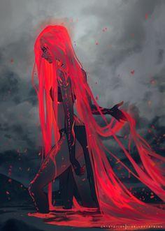 O sangue de sua mãe boiava no mar; a alma de seu pai pousava em terra. Ambos tornaram-se parte de sua filha, Sezria, que de bela, se tornou forte, e de forte, se tornou em um monstro.