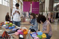 www.fashioncamp.it - Crowdknitting al FashionCamp