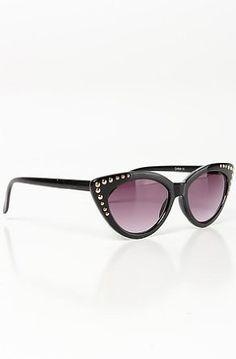 AJ Morgan Women's The Starlet Sunglasses with Rivets One Size Black AJ Morgan. $16.00
