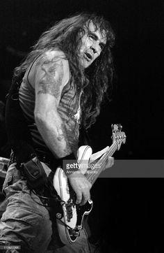 Steve Harris of Iron Maiden during Iron Maiden Concert in Toronto - October 16, 2006 at Air Canada Center in Toronto, Ontario, Canada by Annamaria Disanto.