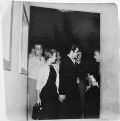chloebeaulieu:   Elvis and Anita Wood, 1958(?) - Elvis never left